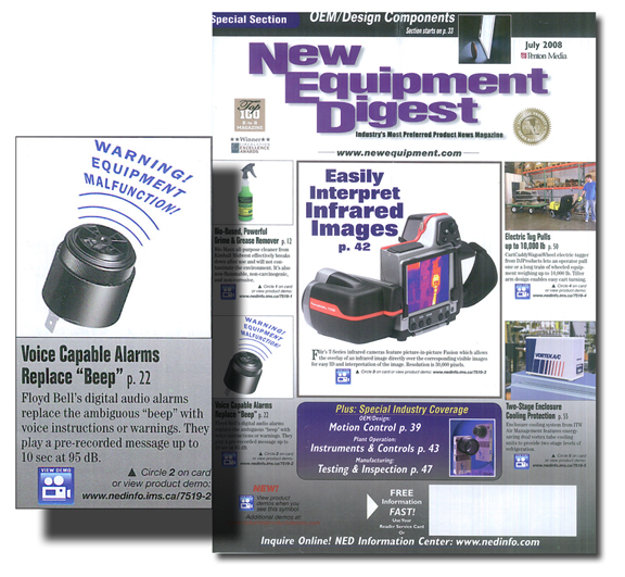 New Equipment Digest July 2008